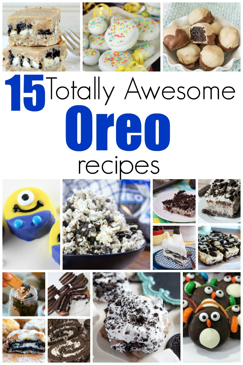 15 Totally Awesome Oreo Recipes