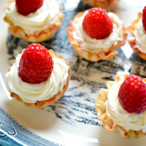 Super Easy Summer Tarts