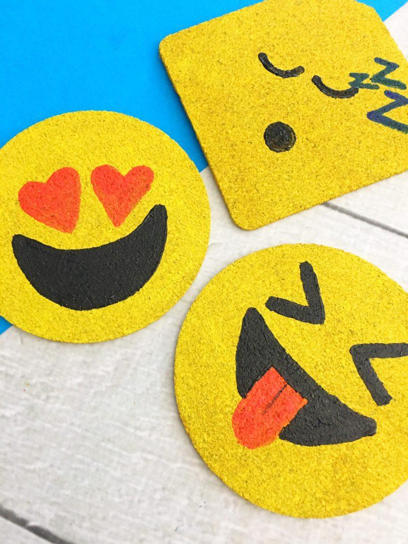 Emoji Coasters | DIY Project | ReeseAlvarado.com