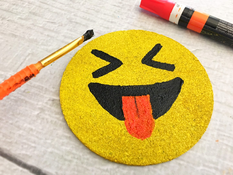 Emoji Coasters