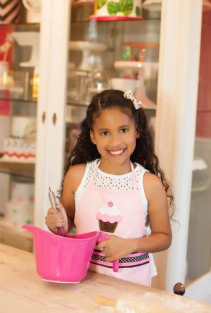Reese Alvarado Kids Baking Kids