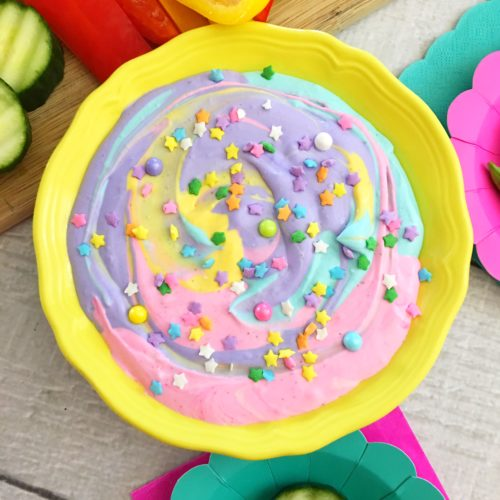 Does Your Kid Hate Veggies? They Won't If You Use My Unicorn Veggie Dip