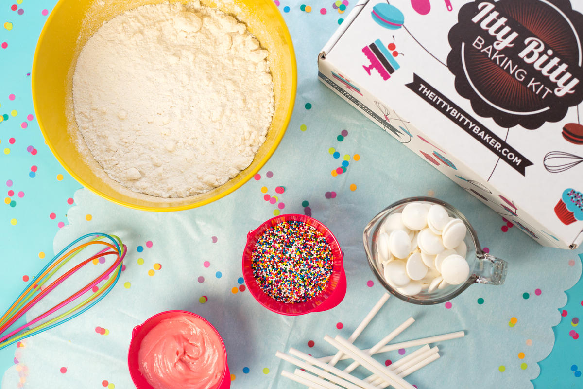 Rainbow Cake Pop Baking Subscription Kit
