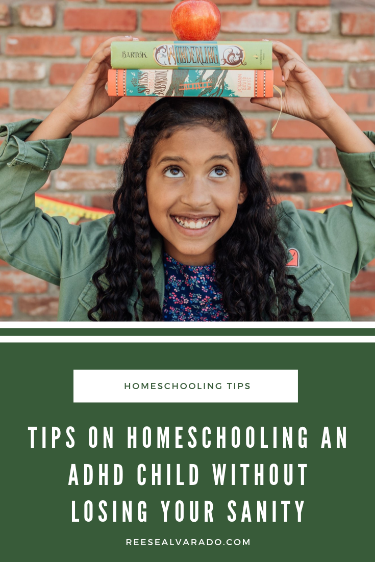 Tips on Homeschooling An ADHD Child Without Losing Your Sanity
